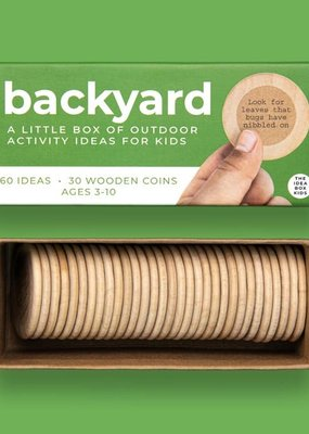 The Idea Box For Kids Backyard - Outdoor Nature Activities For Kids