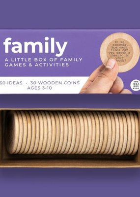 The Idea Box For Kids Family - Family Game Night Activities