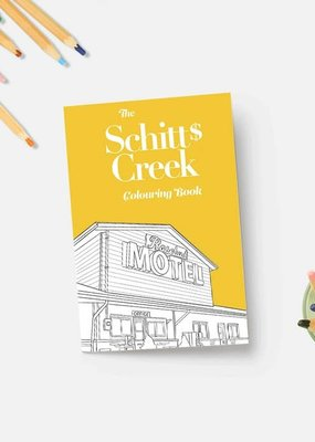 Party Mountain Paper Co. Schitt's Creek Coloring Book