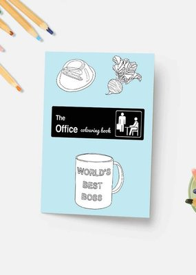 Party Mountain Paper Co. The Office Coloring Book