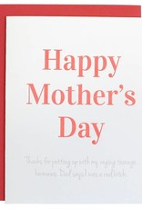 Chez Gagné Mother's Day Raging Card