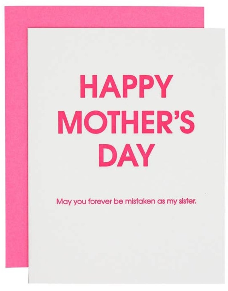 Chez Gagné Happy Mother's Day Mistaken Card