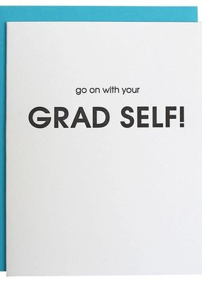 Chez Gagné Go On With Your Grad Self Card