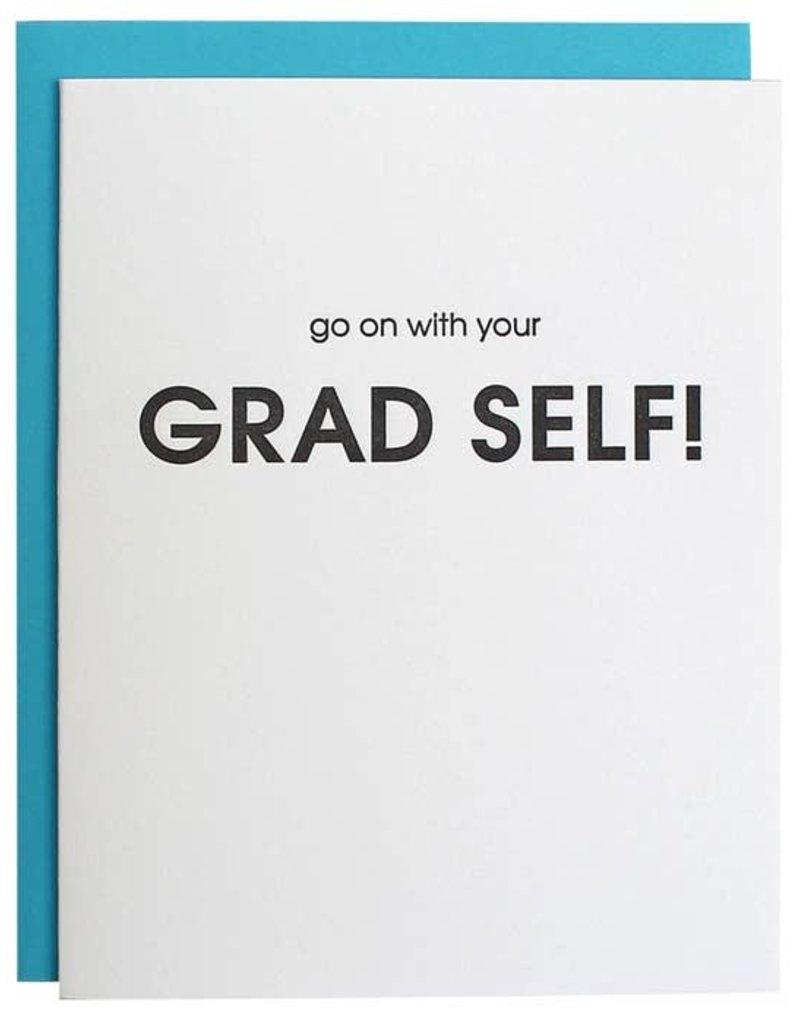 Chez Gagné Go On With Your Grad Self Card
