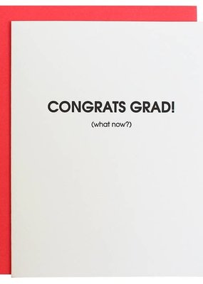 Chez Gagné Congrats Grad, Now What? Card