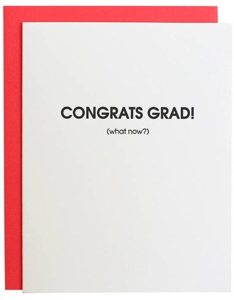 Chez Gagné Congrats Grad, Now What? Card