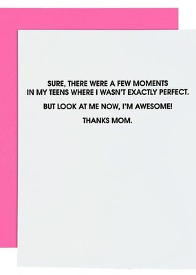 Chez Gagné I'm Awesome - Mom Card