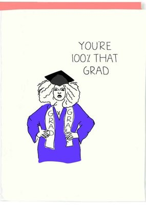 Pop+Paper Lizzo Graduation Card