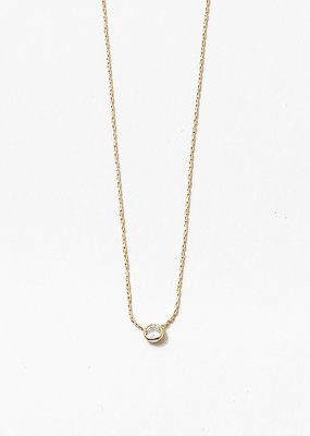 Pendant Bazel Necklace Gold