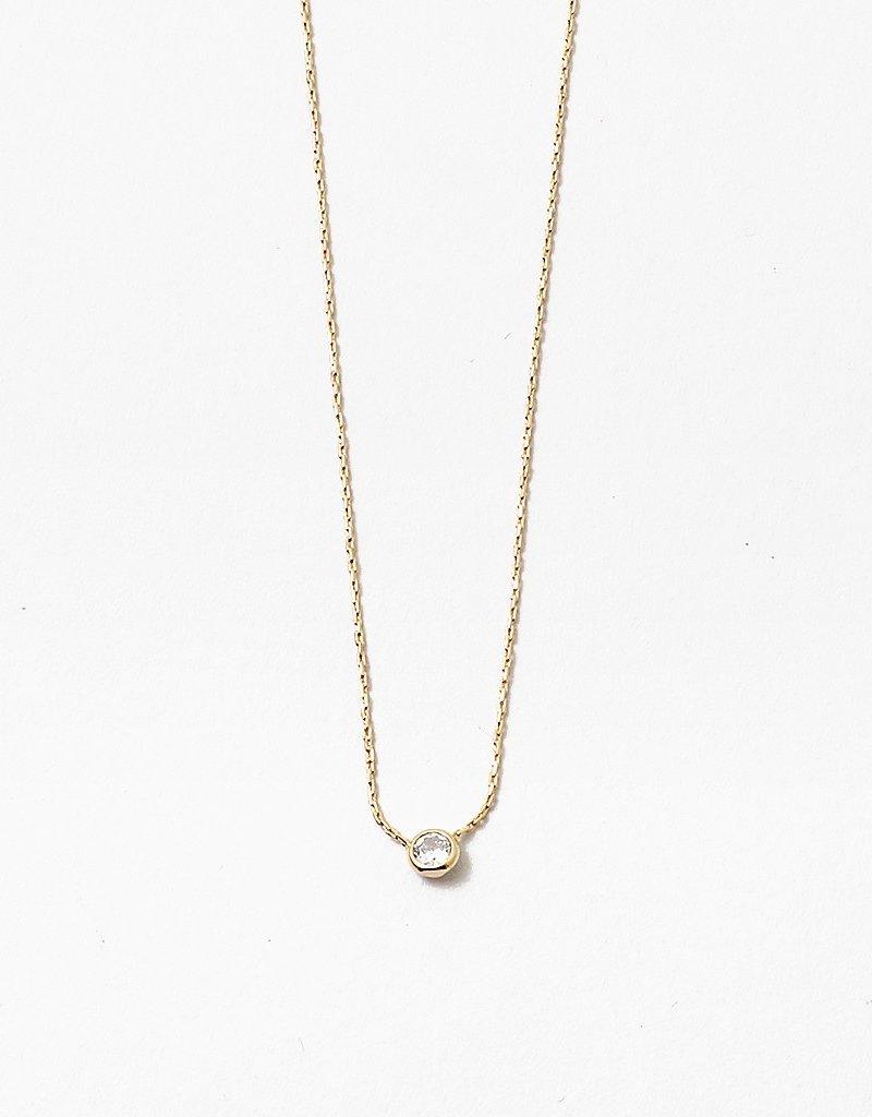 Pendant Bazel Necklace Gold