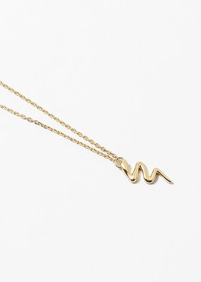 Snake Gift Necklace Gold