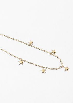 Stars Charms Necklace