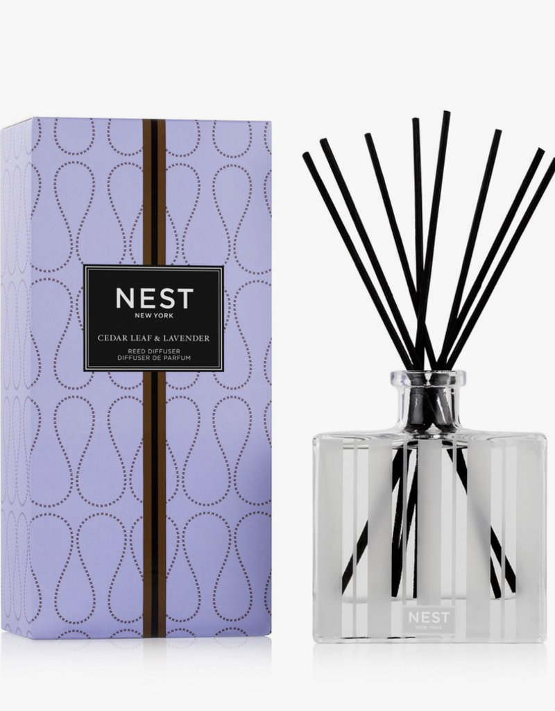 NEST Fragrances Reed Diffuser 5.9oz Cedar Leaf & Lavender