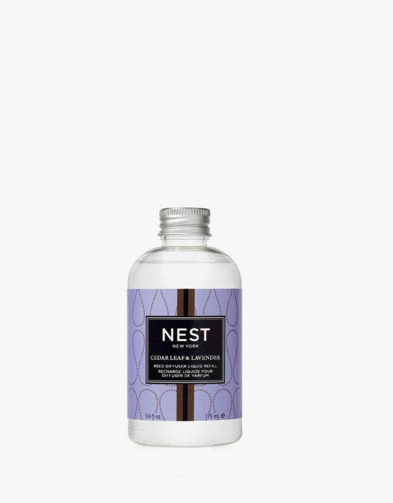 NEST Fragrances Liquid Refill Diffuser Cedar Leaf & Lavender
