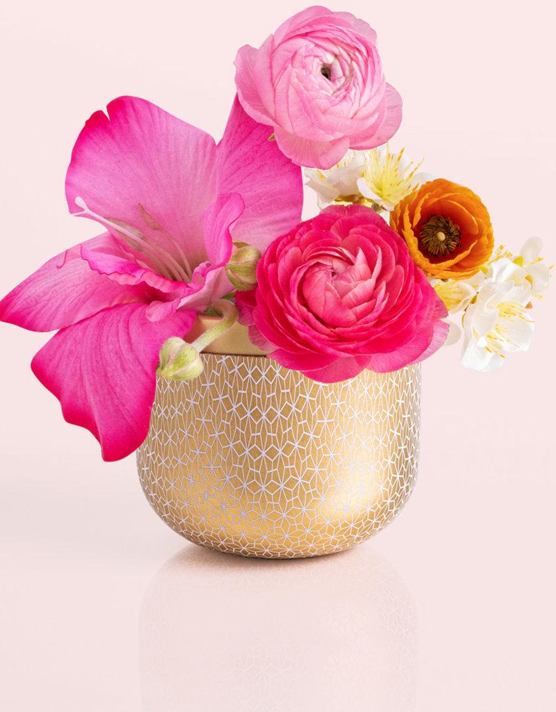 Capri Blue 12.5 oz Gilded Tin Exotic Blossom & Basil