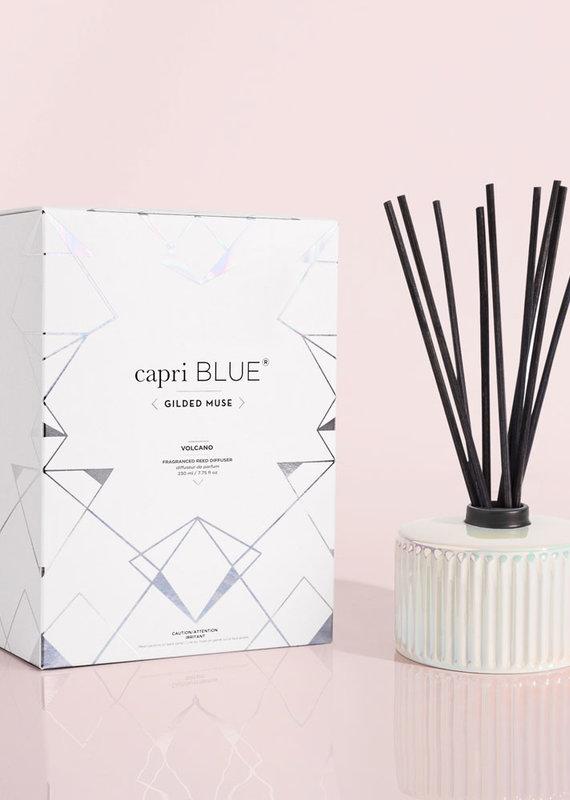 Capri Blue 7.5oz Gilded Diffuser Volcano