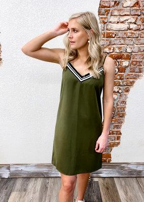 Molly Bracken V Neck Dress