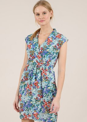 Molly Bracken Printed Pleat Dress