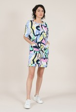Molly Bracken Printed Dolman Dress