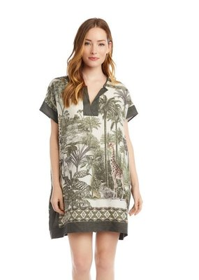Karen Kane Safari Scarf Dress