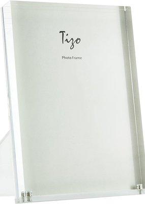 """Acrylic Frame White 4""""x6"""""""