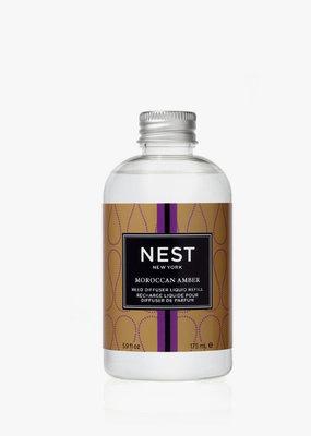 NEST Fragrances Reed Diffuser Liquid Refill Mor. Amber