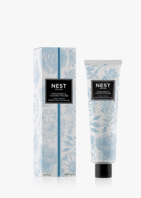 NEST Fragrances Hand Cream 3.4oz Ocean Mist & Coconut