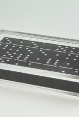 Acrylic Domino Set Black