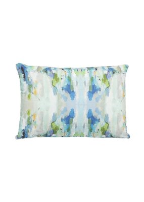 "Laura Park Designs Wintergreen Outdoor Pillow 14""X20"""
