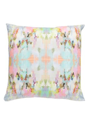 "Laura Park Designs Brooks Avenue Outdoor Pillow 20""X20"""