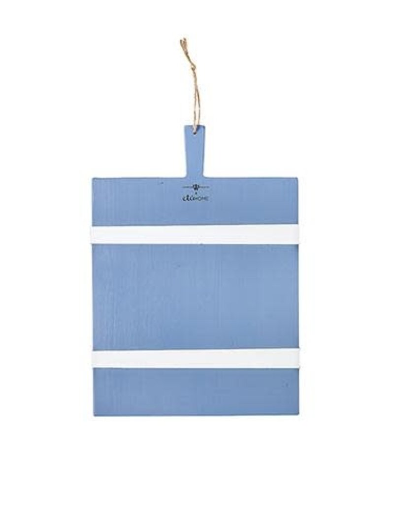 Wooden Nickel Exclusive Rectangle Mod Charcuterie Board, French Blue/White