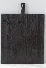 Wooden Nickel Exclusive Rectangle Mod Charcuterie Board, Black