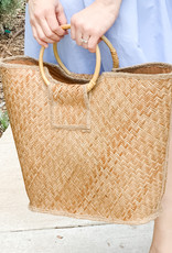Wooden Nickel Exclusive Basketweave Tote