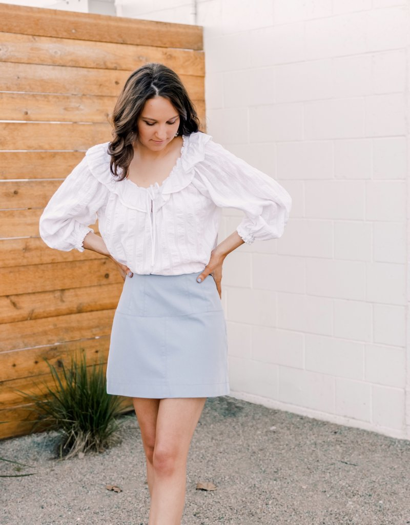 Free People Lilly Of The Valley Blouse