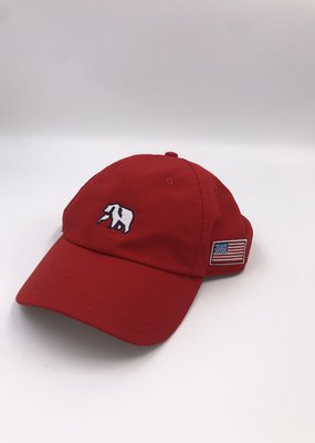 The Normal Brand Patriotic Performance Cap Red