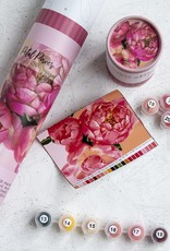 pink picasso Paint By Numbers Kit Petal Power