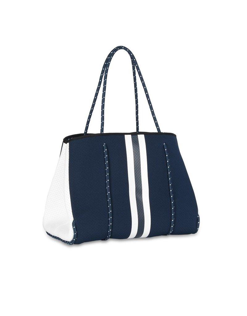 Haute Shore LTD. Greyson Sailor Handbag Navy/White Stripe
