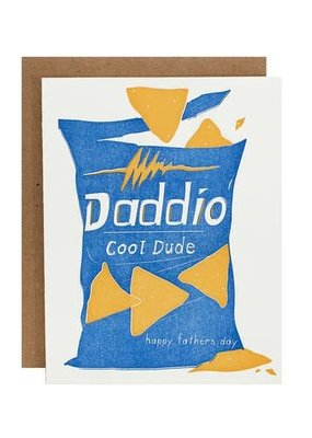 Riva Letterpress Doritos Father's Day Card