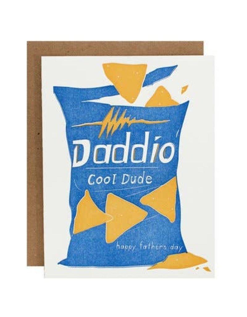 Riva Letterpress Doritos Father's Day Card