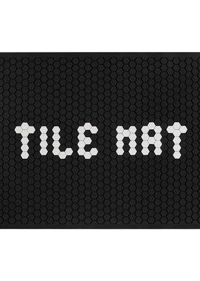 Letterfolk Large Tile Mat Black