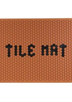Letterfolk Large Tile Mat Clay