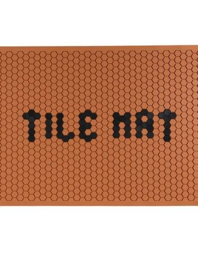 Letterfolk Large Tile Mat Clay