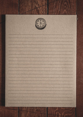 "Oak & Ink Matthew Collection Large Notepad 8.5"" X 11"""