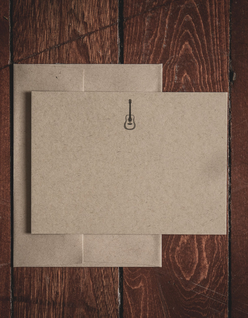 Oak & Ink Gary Collection Set of 8 Flat Notecards