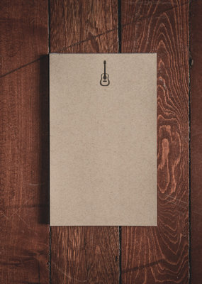 "Oak & Ink Gary Collection Small Notepad 5.5"" X 8.5"""