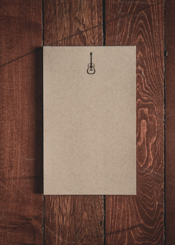 """Oak & Ink Gary Collection Small Notepad 5.5"""" X 8.5"""""""