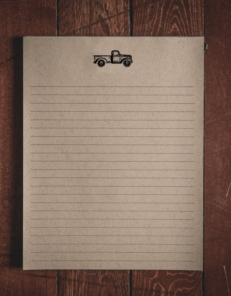 """Oak & Ink Carter Collection Large Notepad 8.5"""" X 11"""""""