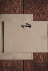 Oak & Ink Carter Collection Set of 8 Flat Note Cards