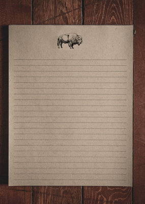 "Oak & Ink Brent Collection  Large Notepad 8.5"" X 11"""
