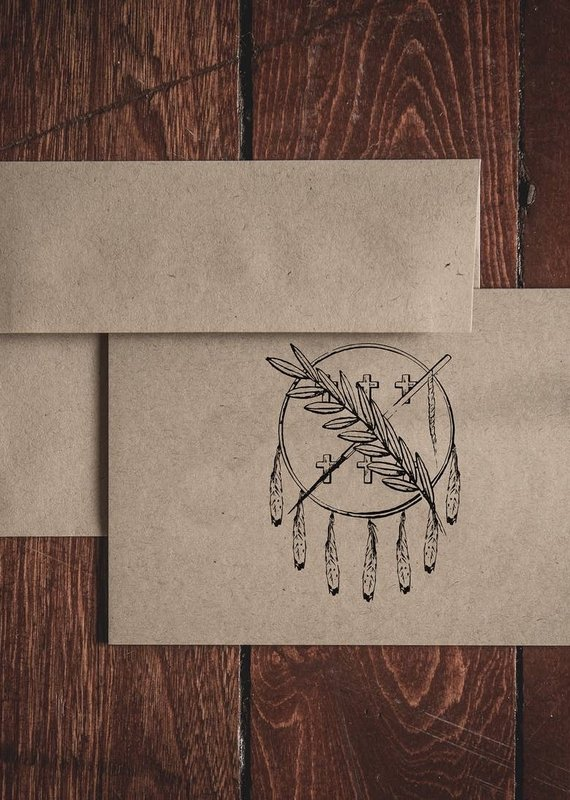 Oak & Ink Oklahoma Collection Single Folded Note Card